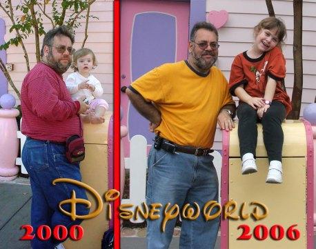 Emma & Dad Disneyworld