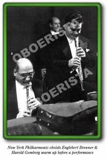 Engelbert Brenner and Harold Gomberg