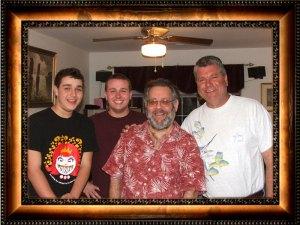 Casey, Justin, Dave & Tom