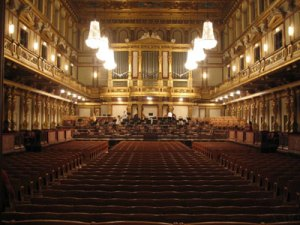 ... plus a beautiful concert hall in Vienna...
