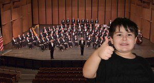 Peter attends his first concert